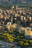 Χιλή de Σαντιάγο Στοκ Φωτογραφία