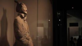 """ΧΙ """"30 Μαΐου 2012: Οι διάσημοι πολεμιστές τερακότας Xian, απόθεμα βίντεο"""