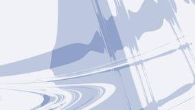 Χλωμιάστε - μπλε γκρίζο αφηρημένο fractal υπόβαθρο Υγιή κύματα και κυματισμοί σε ένα απλό σκηνικό μοντέρνα ψηφιακή τέχνη Δημιουργ απεικόνιση αποθεμάτων