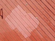 χλωμό κόκκινο στο κόκκινο Στοκ εικόνα με δικαίωμα ελεύθερης χρήσης
