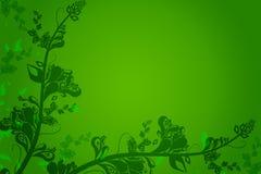 χλωρίδα ανασκόπησης Στοκ εικόνα με δικαίωμα ελεύθερης χρήσης