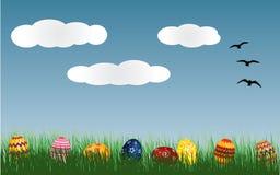 χλόη αυγών Πάσχας Στοκ εικόνα με δικαίωμα ελεύθερης χρήσης