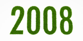 χλόη του 2008 απεικόνιση αποθεμάτων