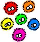 χνουδωτά μικρόβια ελεύθερη απεικόνιση δικαιώματος