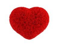χνουδωτή καρδιά Στοκ φωτογραφίες με δικαίωμα ελεύθερης χρήσης