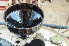 Χοάνη πετρελαίου Στοκ Εικόνες