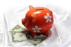 χοίρος τραπεζών piggy στοκ φωτογραφίες
