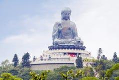 Χογκ Κογκ Άγαλμα του Βούδα στο νησί Lantau Στοκ φωτογραφία με δικαίωμα ελεύθερης χρήσης