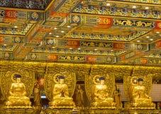 Χογκ Κογκ Το εσωτερικό του Po Lin μοναστηριού στο νησί Lantau Στοκ εικόνες με δικαίωμα ελεύθερης χρήσης