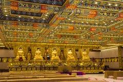 Χογκ Κογκ Το εσωτερικό του Po Lin μοναστηριού στο νησί Lantau Στοκ φωτογραφία με δικαίωμα ελεύθερης χρήσης