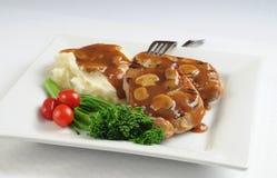 χοιρινό κρέας γευμάτων Στοκ Εικόνες