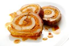 χοιρινό κρέας ζαμπόν sauerkraft στοκ φωτογραφία με δικαίωμα ελεύθερης χρήσης