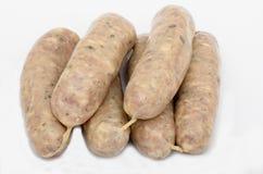 Χοιρινό κρέας και Bramley Apple λουκάνικο Στοκ εικόνες με δικαίωμα ελεύθερης χρήσης