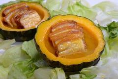Χοιρινό κρέας κοιλιών κολοκύθας στοκ φωτογραφία με δικαίωμα ελεύθερης χρήσης