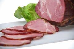 χοιρινό κρέας κρέατος που καπνίζεται Στοκ εικόνα με δικαίωμα ελεύθερης χρήσης