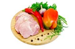 Χοιρινό κρέας λιχουδιών με το πιπέρι Στοκ φωτογραφία με δικαίωμα ελεύθερης χρήσης