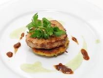 χοιρινό κρέας μενταγιόν στοκ φωτογραφίες