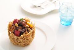 Χοιρινό κρέας με τη σάλτσα 1 Στοκ φωτογραφία με δικαίωμα ελεύθερης χρήσης