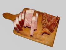 χοιρινό κρέας μπέϊκον που τ&epsi Στοκ Εικόνες