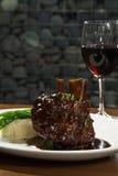 χοιρινό κρέας μπριζολών κόκ& Στοκ Εικόνα