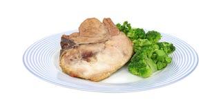 χοιρινό κρέας μπριζολών μπρό&k Στοκ Εικόνες