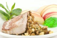 χοιρινό κρέας μπριζολών πο&up Στοκ εικόνες με δικαίωμα ελεύθερης χρήσης