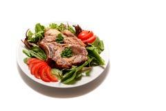 χοιρινό κρέας μπριζολών Στοκ Εικόνες