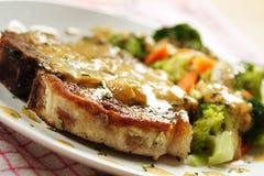 χοιρινό κρέας μπριζολών στοκ εικόνες με δικαίωμα ελεύθερης χρήσης