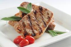 χοιρινό κρέας μπριζολών Στοκ φωτογραφία με δικαίωμα ελεύθερης χρήσης