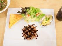 Χοιρινό κρέας μπριζόλας στοκ εικόνες