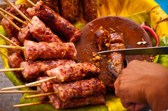 χοιρινό κρέας ξινό Στοκ Φωτογραφία