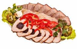 χοιρινό κρέας πιάτων που τ&epsilo Στοκ φωτογραφία με δικαίωμα ελεύθερης χρήσης