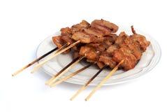 χοιρινό κρέας που ψήνεται Στοκ εικόνες με δικαίωμα ελεύθερης χρήσης