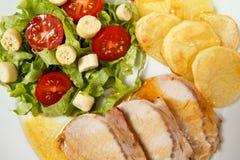 χοιρινό κρέας που ψήνεται Στοκ εικόνα με δικαίωμα ελεύθερης χρήσης
