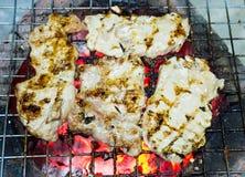 χοιρινό κρέας που ψήνεται Στοκ φωτογραφίες με δικαίωμα ελεύθερης χρήσης