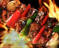 χοιρινό κρέας σχαρών στοκ εικόνα με δικαίωμα ελεύθερης χρήσης