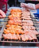 Χοιρινό κρέας σχαρών babeque Στοκ φωτογραφία με δικαίωμα ελεύθερης χρήσης