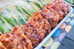 Χοιρινό κρέας σχαρών babeque Στοκ εικόνες με δικαίωμα ελεύθερης χρήσης