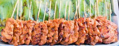 Χοιρινό κρέας σχαρών babeque Στοκ Φωτογραφία