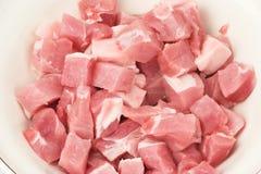 χοιρινό κρέας φρέσκου κρέατος Στοκ Φωτογραφία