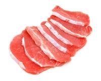 χοιρινό κρέας φρέσκου κρέα Στοκ φωτογραφίες με δικαίωμα ελεύθερης χρήσης