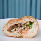 χοιρινό κρέας ψωμιού που δ& Στοκ φωτογραφία με δικαίωμα ελεύθερης χρήσης