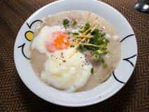 Χοιρινό κρέας Congee στοκ φωτογραφίες