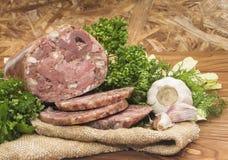Χοιρινό κρέας Headcheese Στοκ φωτογραφία με δικαίωμα ελεύθερης χρήσης