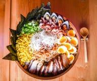 Χοιρινό κρέας Ramen Chashu Στοκ Εικόνες