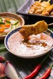 χοιρινό κρέας satay Στοκ Φωτογραφία