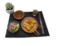 χοιρινό κρέας satay Στοκ Εικόνα