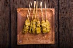 χοιρινό κρέας satay Στοκ Εικόνες