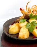 χοιρινό κρέας schnitzel Στοκ Φωτογραφία