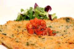 Χοιρινό κρέας Schnitzel στοκ εικόνες με δικαίωμα ελεύθερης χρήσης
